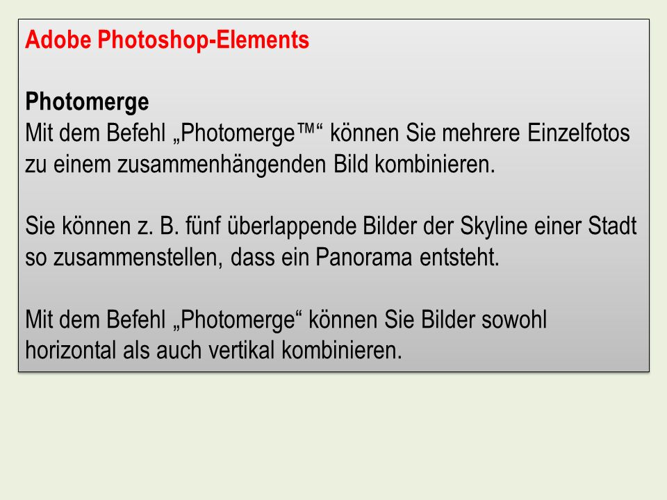 Adobe Photoshop-Elements