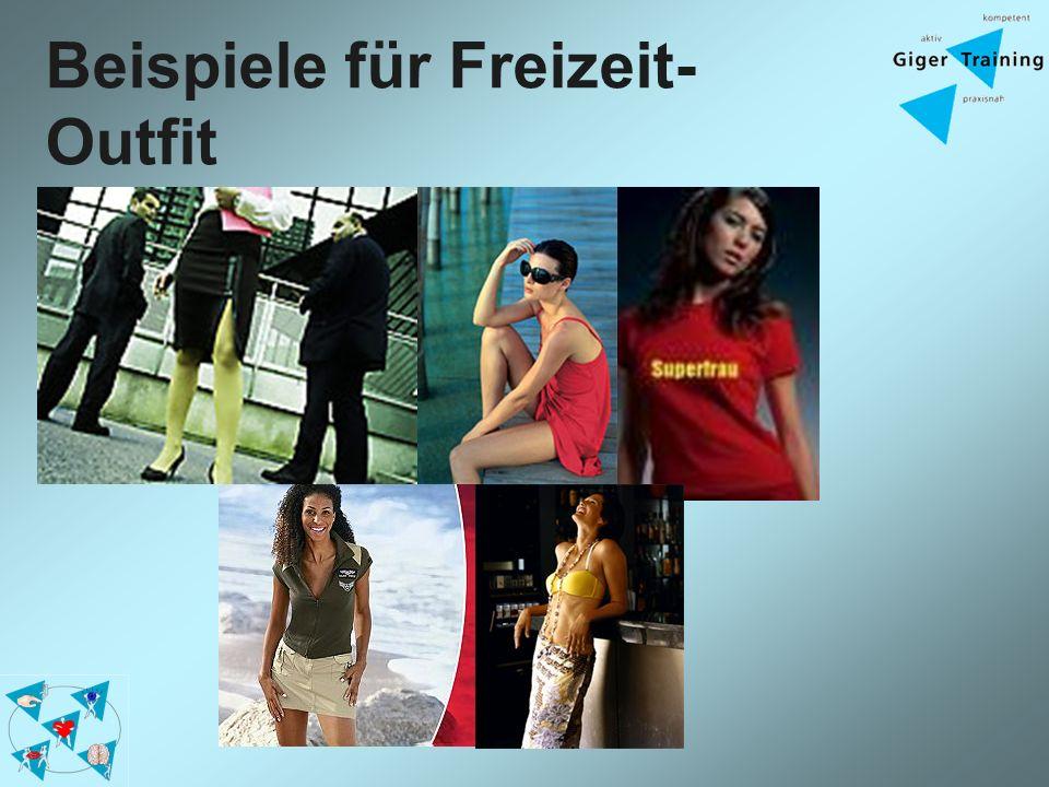 Beispiele für Freizeit-Outfit
