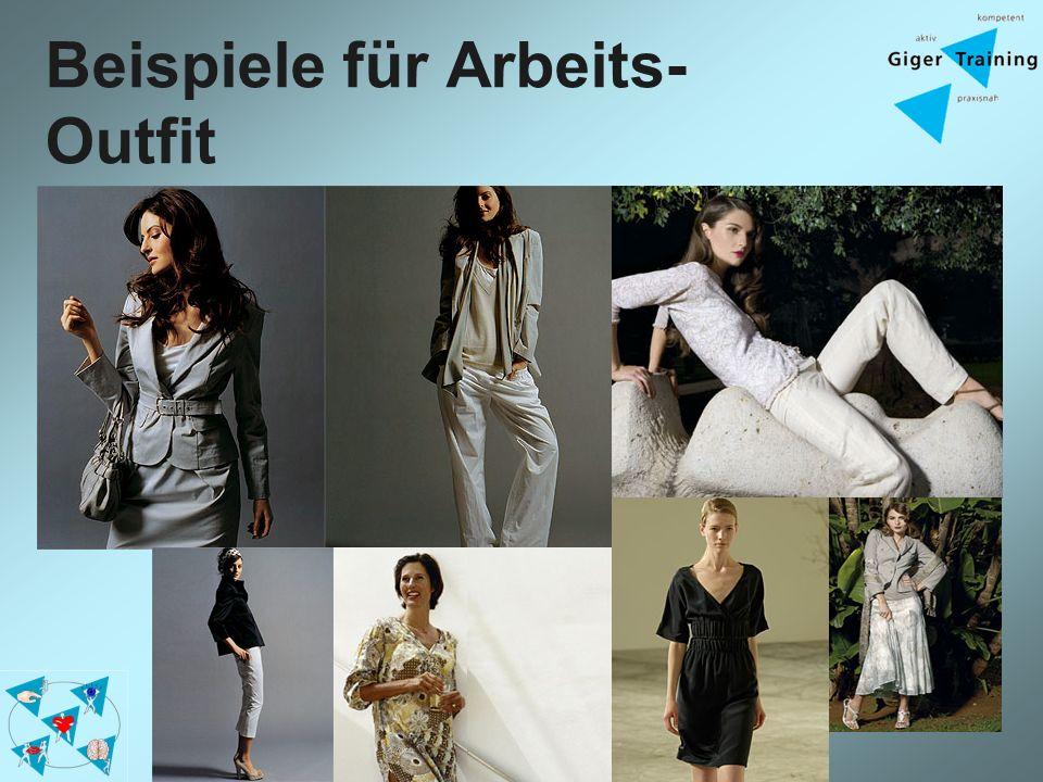 Beispiele für Arbeits-Outfit