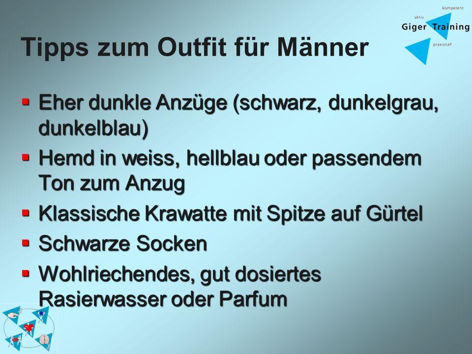 Tipps zum Outfit für Männer