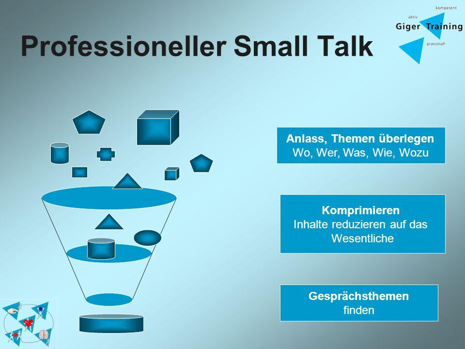 Professioneller Small Talk
