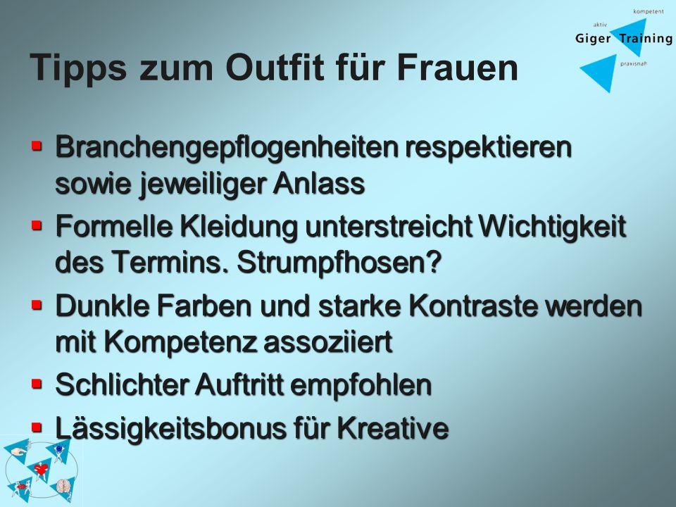 Tipps zum Outfit für Frauen