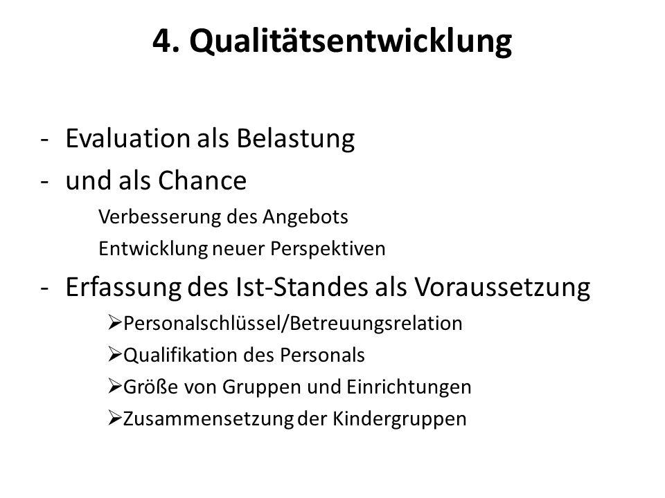 4. Qualitätsentwicklung