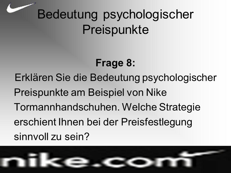 Bedeutung psychologischer Preispunkte