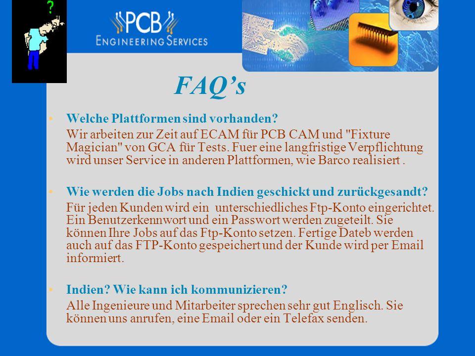 FAQ's Welche Plattformen sind vorhanden
