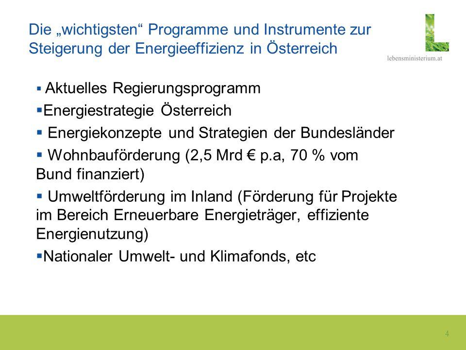 Energiestrategie Österreich