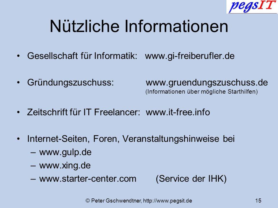 Nützliche Informationen