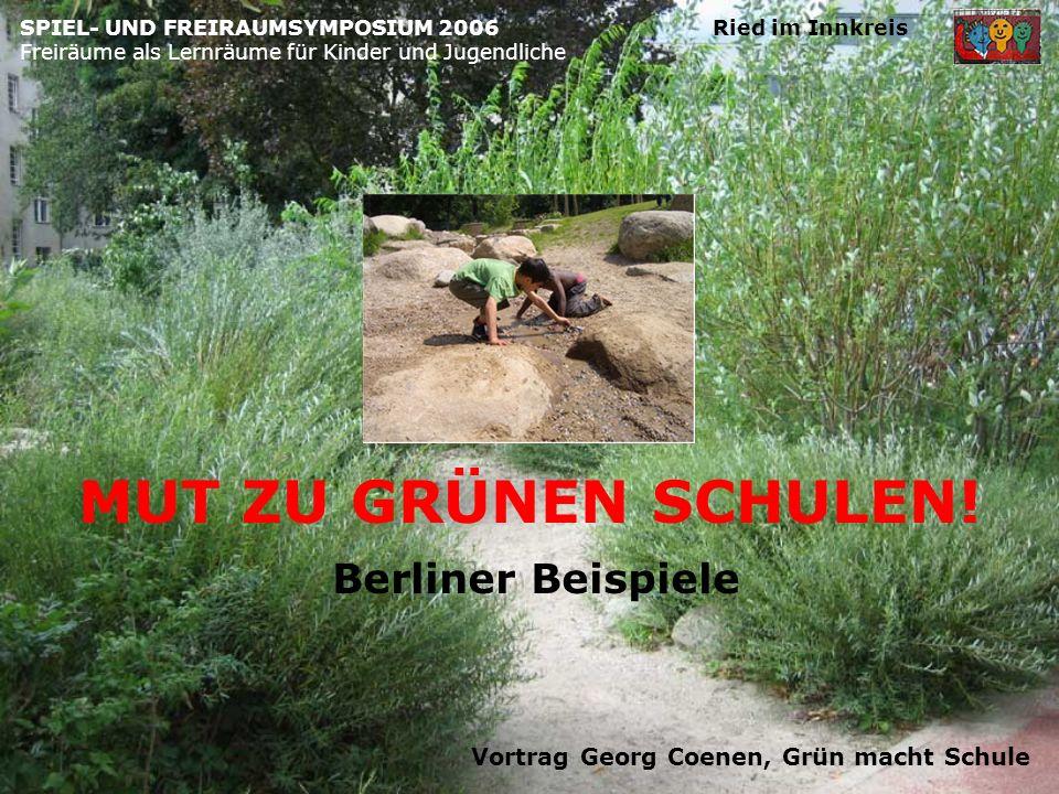 Vortrag Georg Coenen, Grün macht Schule
