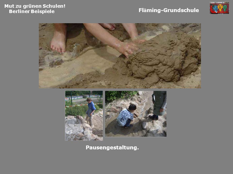 Fläming-Grundschule Pausengestaltung. Mut zu grünen Schulen!