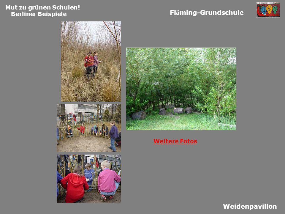 Fläming-Grundschule Weidenpavillon Mut zu grünen Schulen!