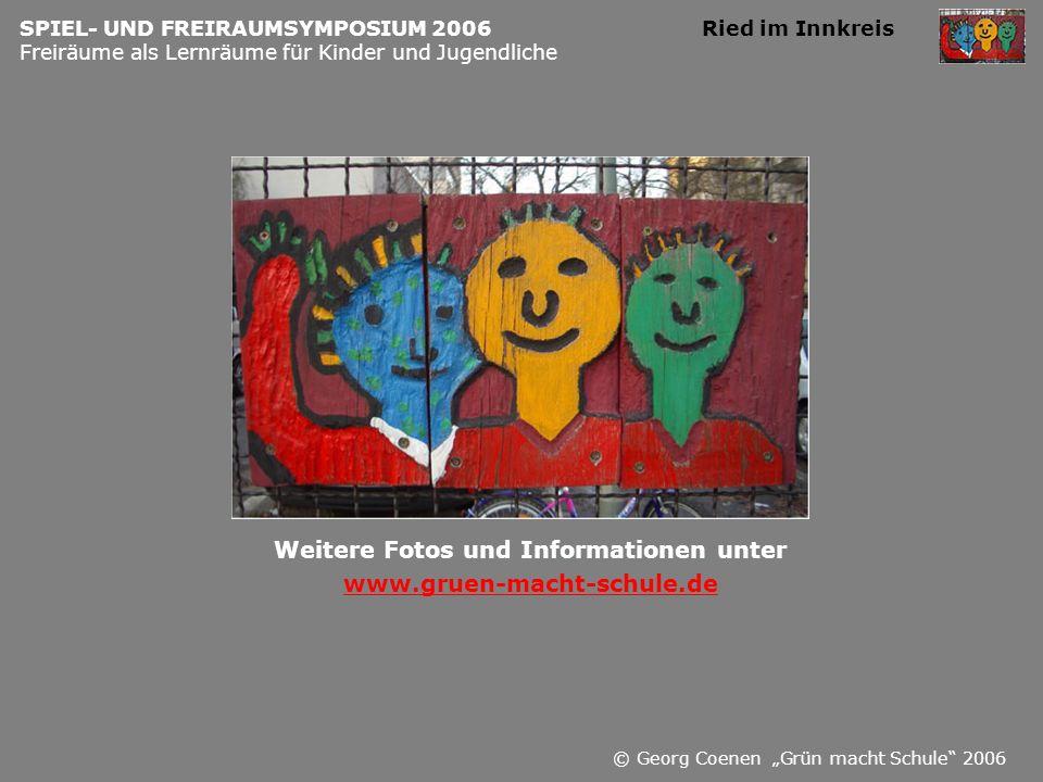 Weitere Fotos und Informationen unter www.gruen-macht-schule.de