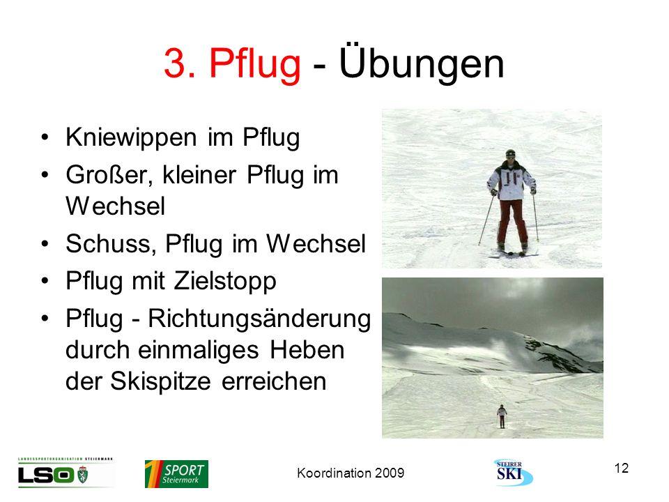 3. Pflug - Übungen Kniewippen im Pflug