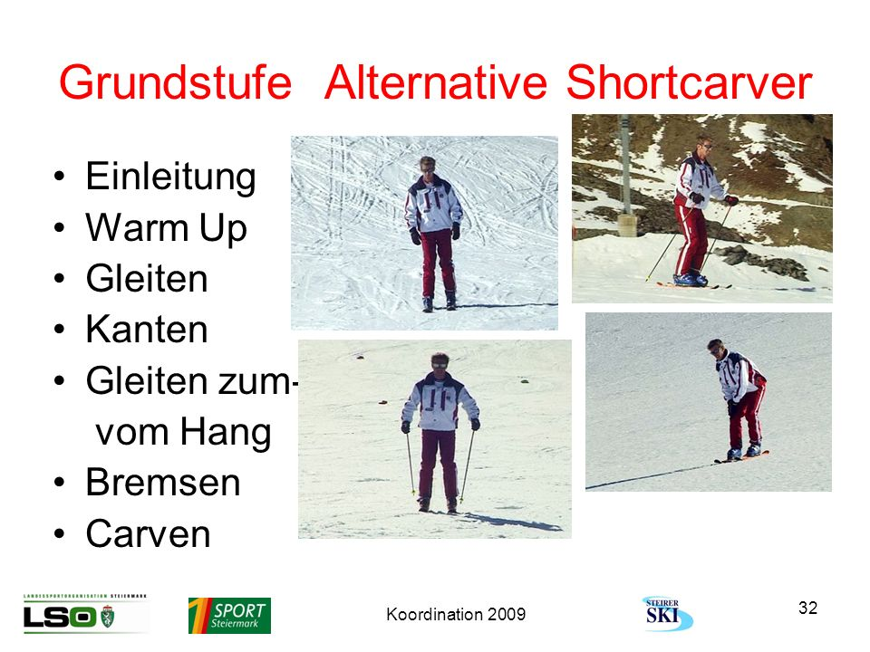 Grundstufe Alternative Shortcarver