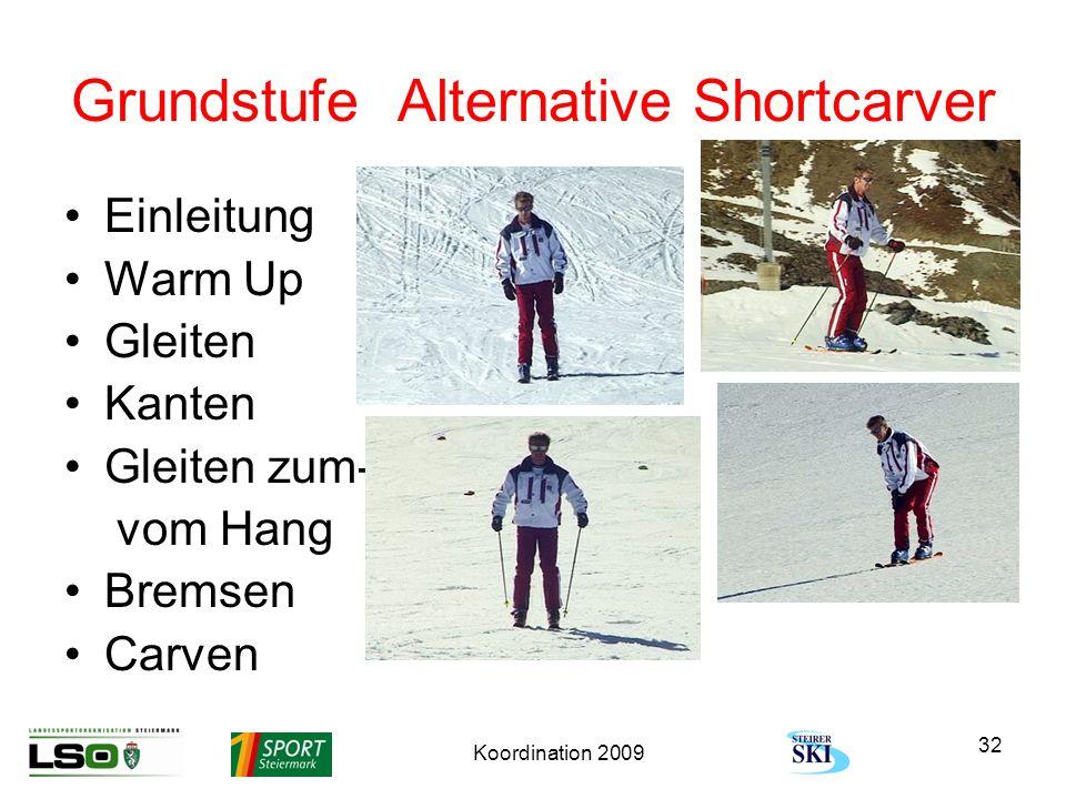 Grundstufe Alternative Shortcarver