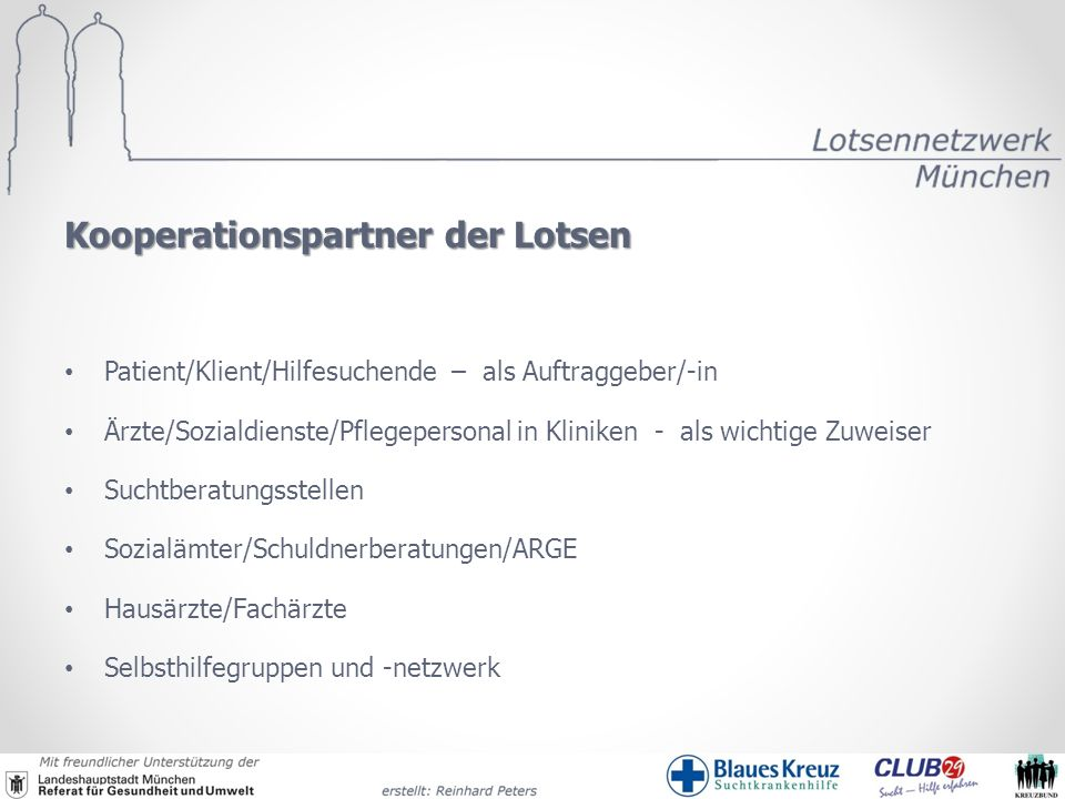 Kooperationspartner der Lotsen