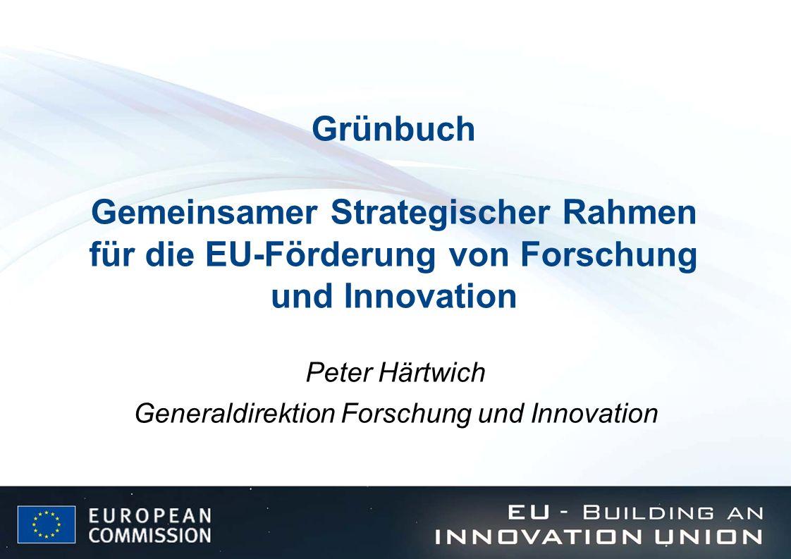 Peter Härtwich Generaldirektion Forschung und Innovation