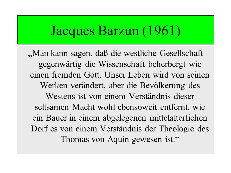 Jacques Barzun (1961)