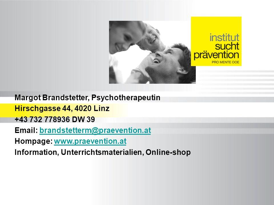 Margot Brandstetter, Psychotherapeutin