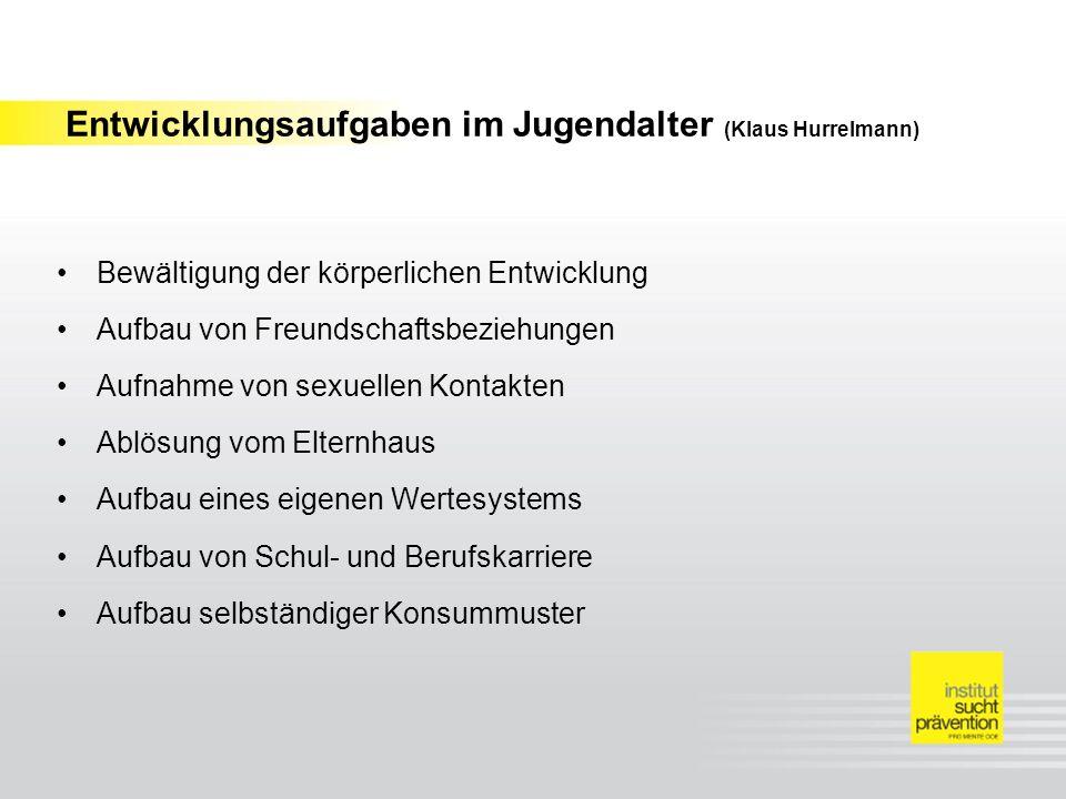 Entwicklungsaufgaben im Jugendalter (Klaus Hurrelmann)