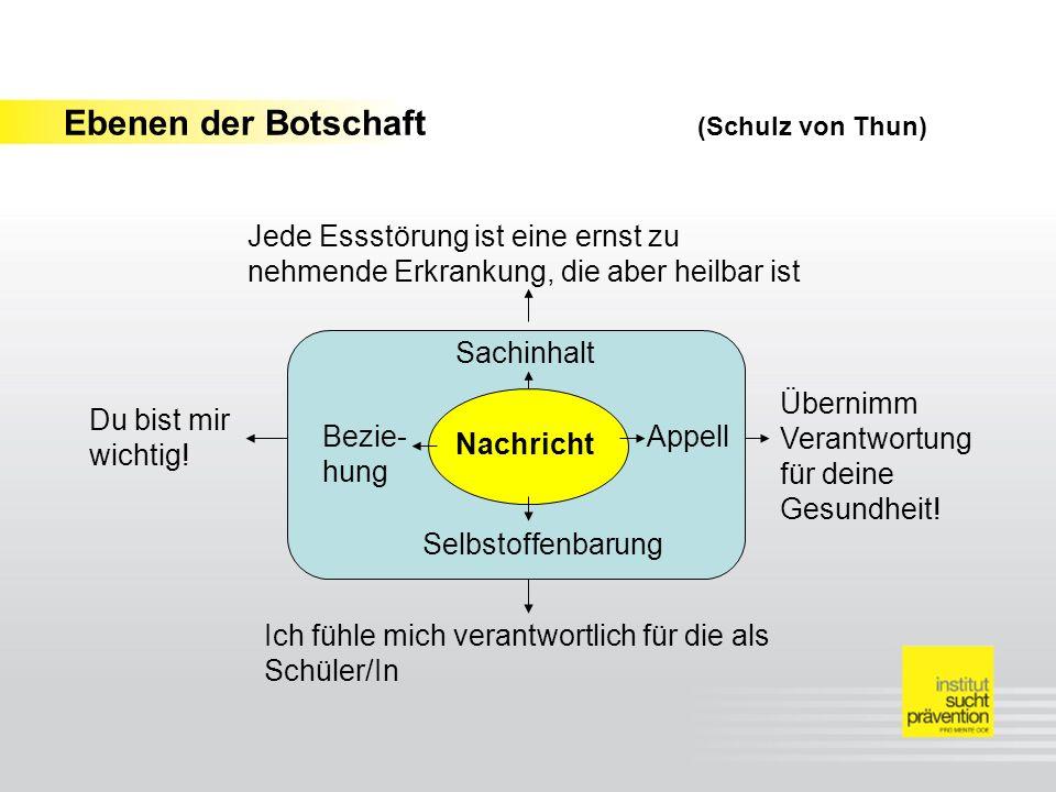 Ebenen der Botschaft (Schulz von Thun)