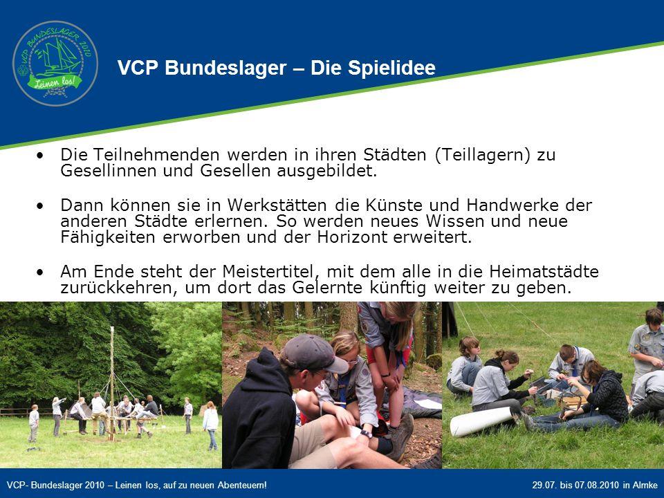 VCP Bundeslager – Die Spielidee