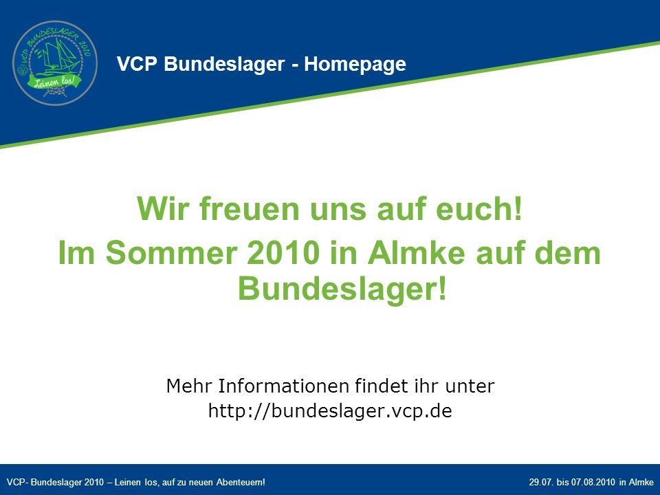 VCP Bundeslager - Homepage