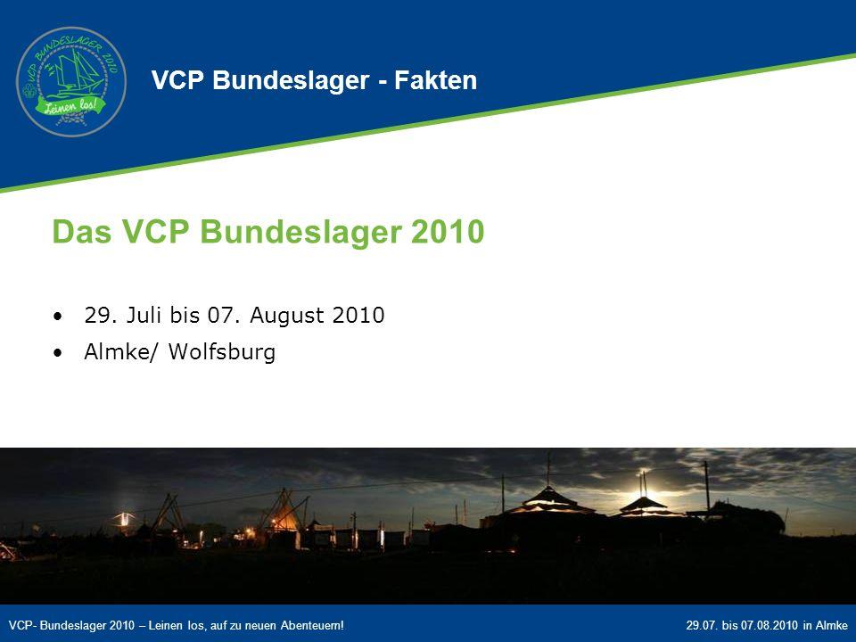 VCP Bundeslager - Fakten