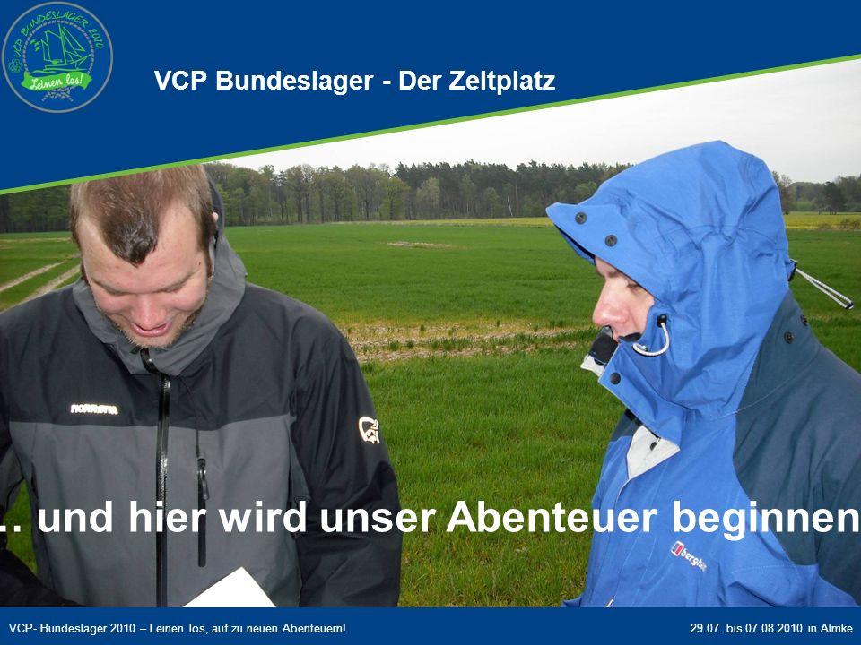 VCP Bundeslager - Der Zeltplatz
