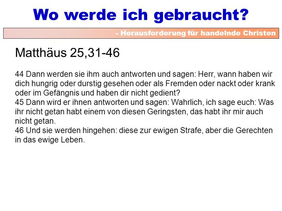 Matthäus 25,31-46