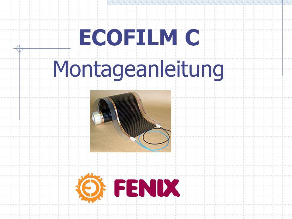 ECOFILM C Montageanleitung