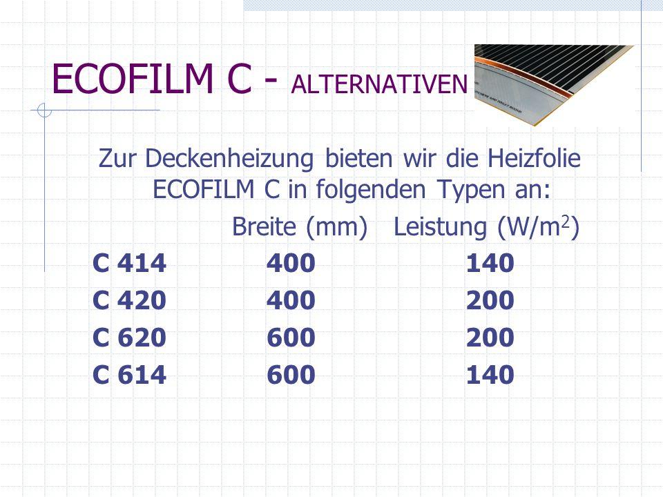 ECOFILM C - ALTERNATIVEN