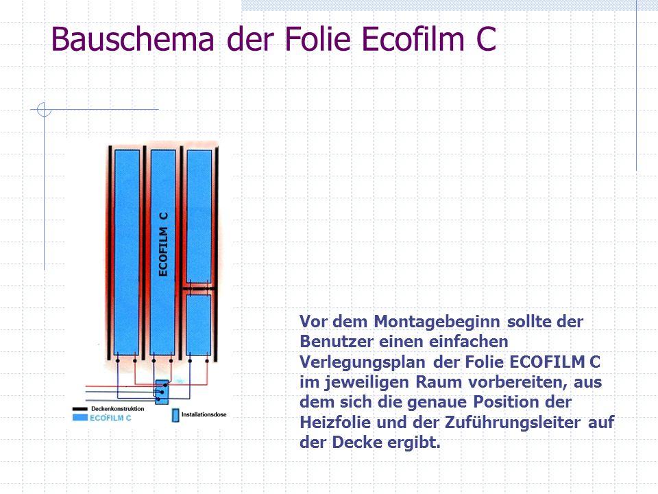 Bauschema der Folie Ecofilm C