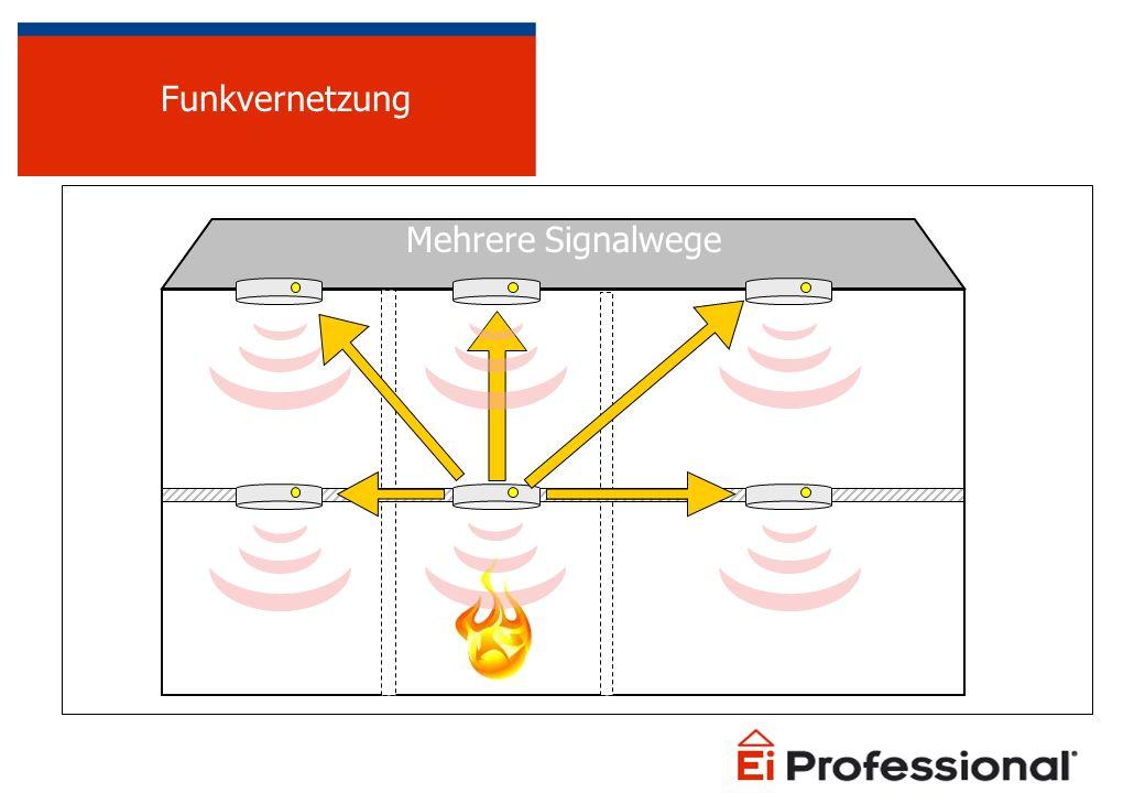 Funkvernetzung Mehrere Signalwege