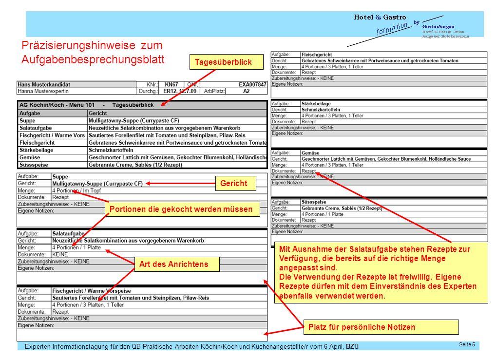 28.03.2017 5 Präzisierungshinweise zum Aufgabenbesprechungsblatt