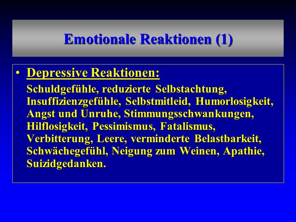 Emotionale Reaktionen (1)