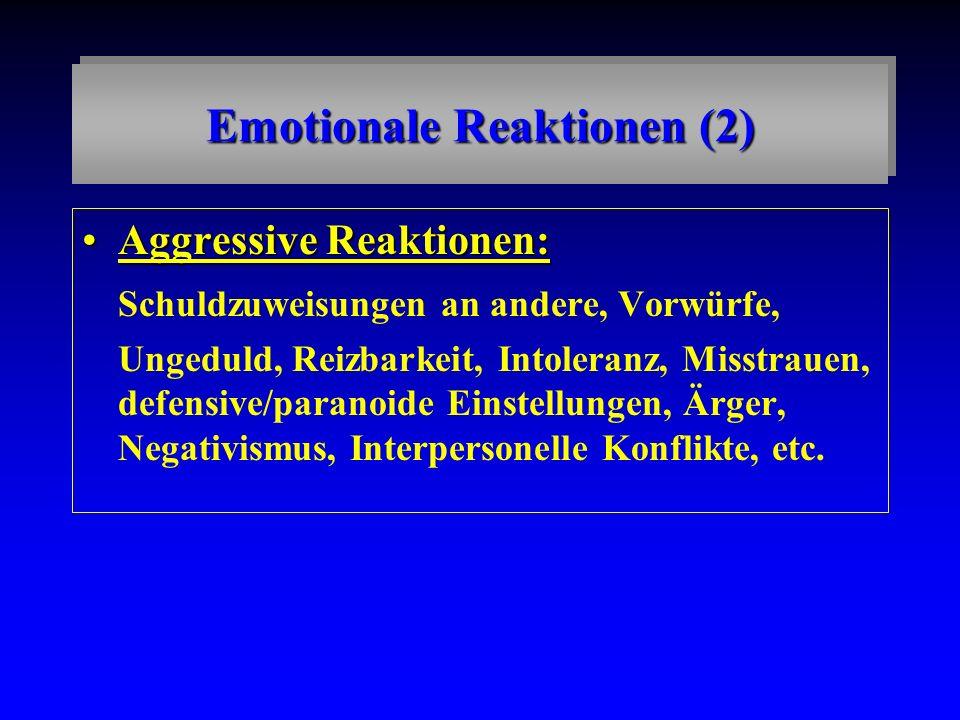 Emotionale Reaktionen (2)