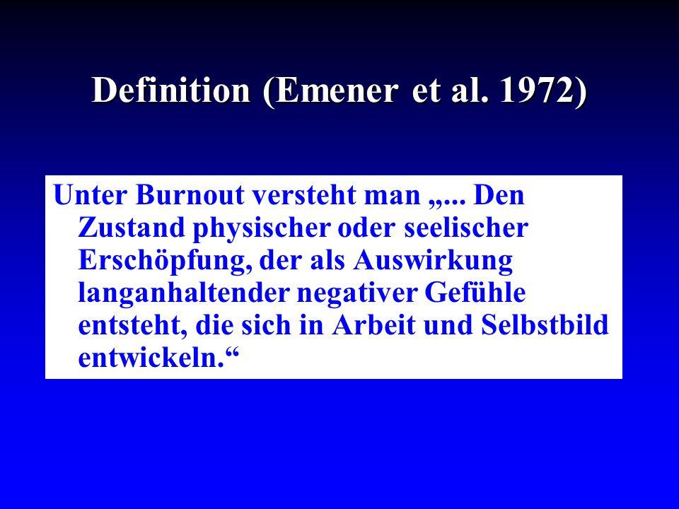 Definition (Emener et al. 1972)