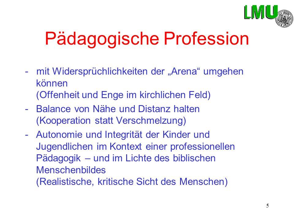 Pädagogische Profession