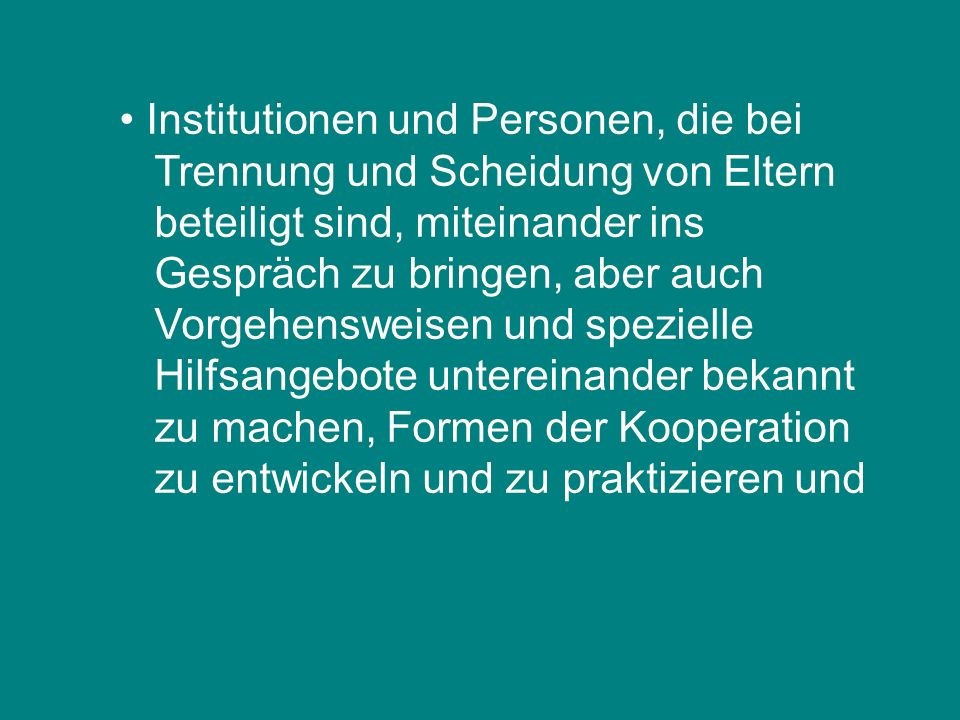 Institutionen und Personen, die bei