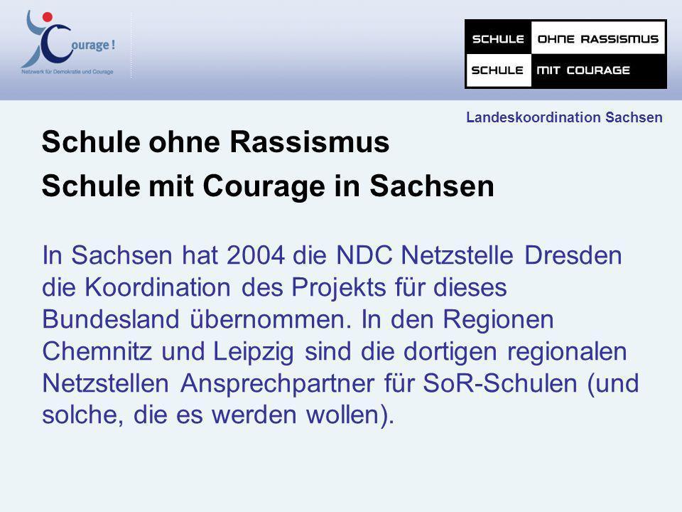 Schule mit Courage in Sachsen