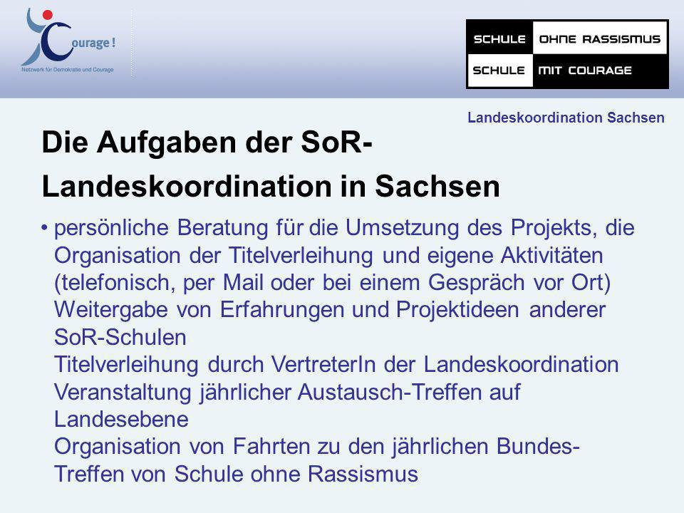 Landeskoordination in Sachsen