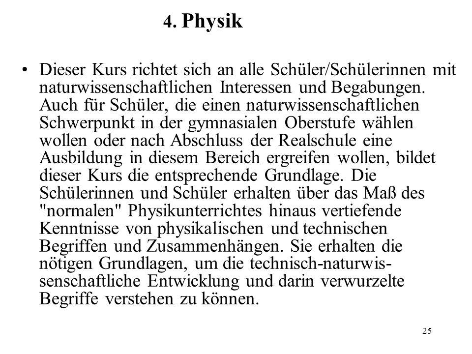 4. Physik