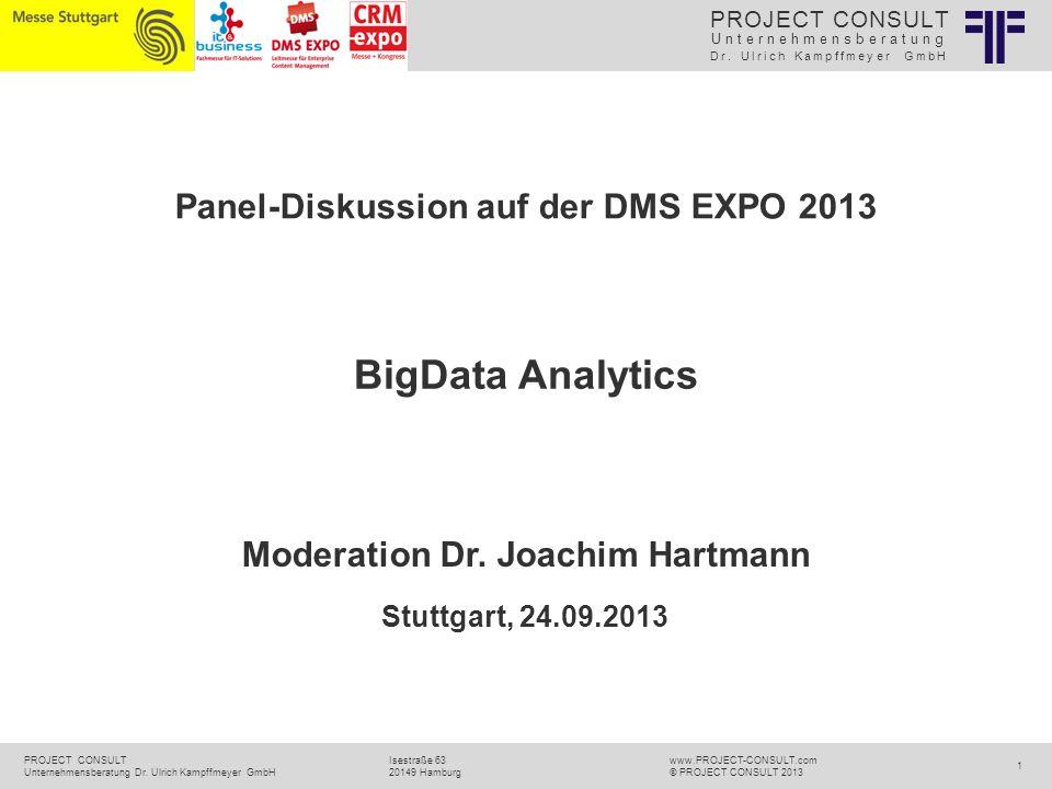 Moderation Dr. Joachim Hartmann