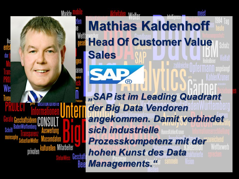 Mathias Kaldenhoff Head Of Customer Value Sales