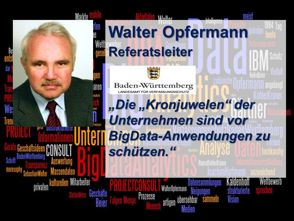 Walter Opfermann Referatsleiter