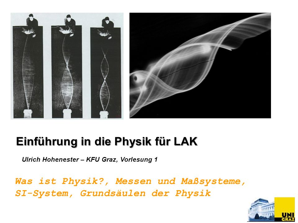Einführung in die Physik für LAK