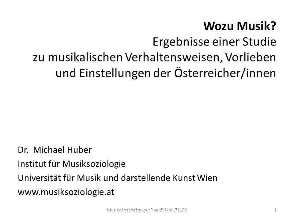 Musikwirtschafts-JourFixe @ ikm171109