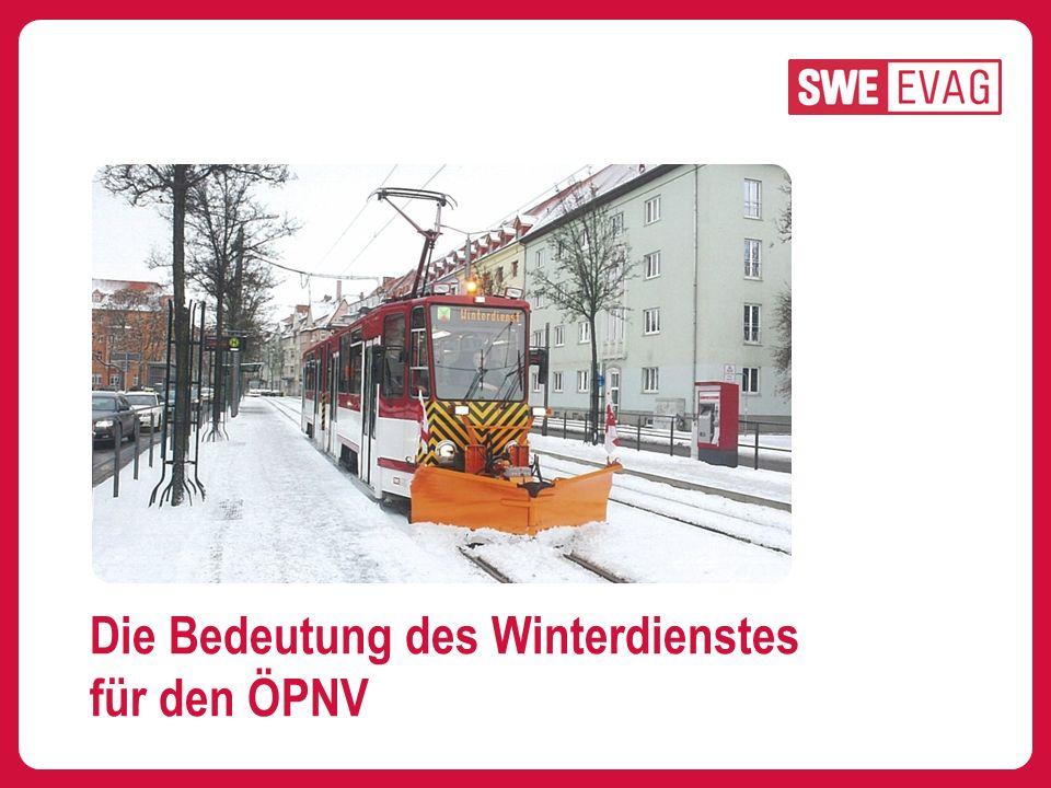 Die Bedeutung des Winterdienstes für den ÖPNV