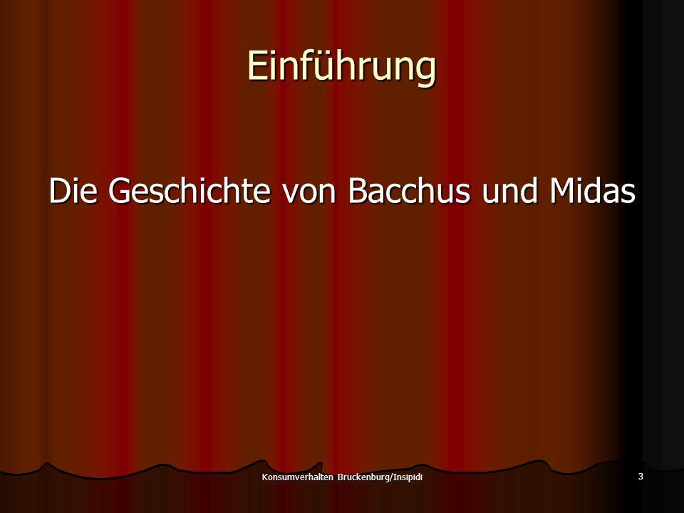 Einführung Die Geschichte von Bacchus und Midas
