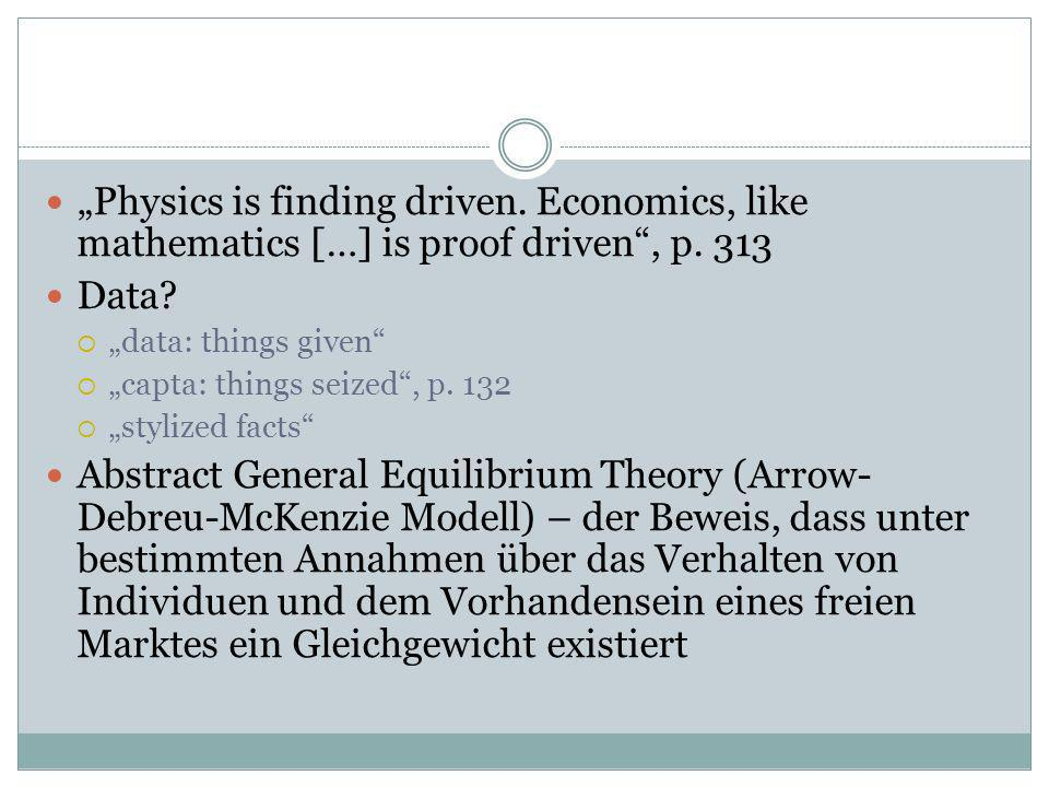 """Physics is finding driven"